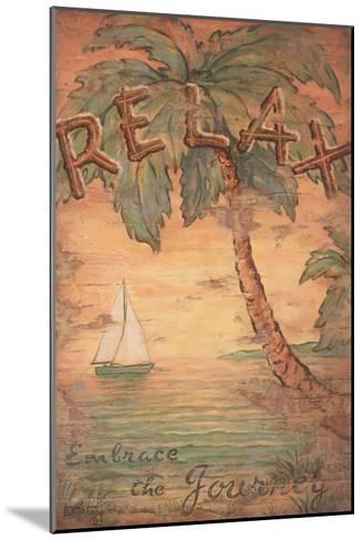 Relax-Janet Kruskamp-Mounted Art Print