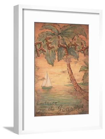 Relax-Janet Kruskamp-Framed Art Print