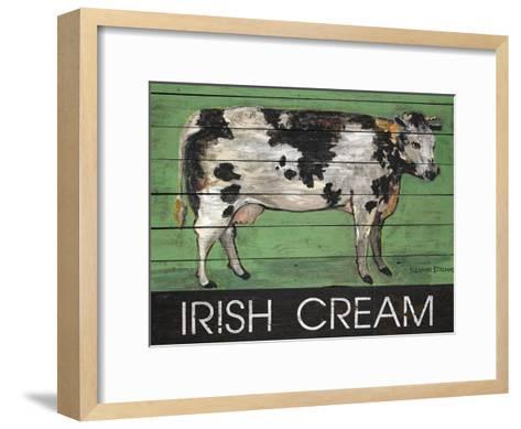 Irish Cream Cow-Suzanne Etienne-Framed Art Print