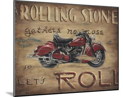 Let's Roll-Janet Kruskamp-Mounted Art Print