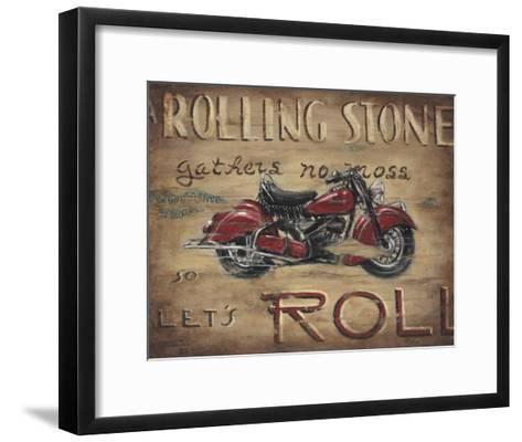 Let's Roll-Janet Kruskamp-Framed Art Print