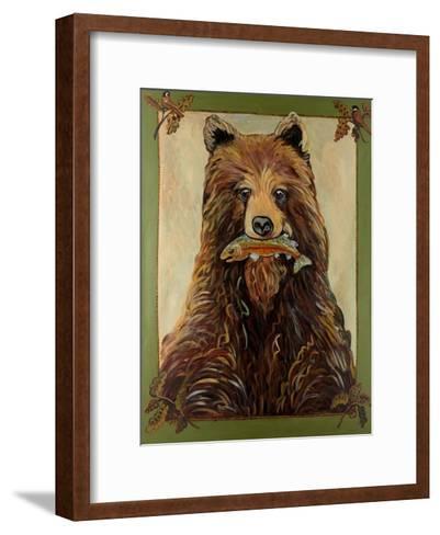 Brown Bear-Suzanne Etienne-Framed Art Print