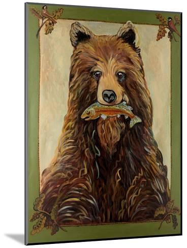 Brown Bear-Suzanne Etienne-Mounted Art Print