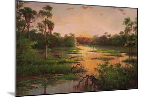 Sunset on the Bayou-Hannah Paulsen-Mounted Art Print