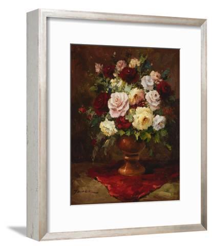 Classical Flower Arrangement-Janek-Framed Art Print