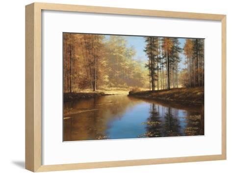 Autumn Creek-Diane Romanello-Framed Art Print