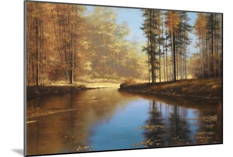 Autumn Creek-Diane Romanello-Mounted Art Print