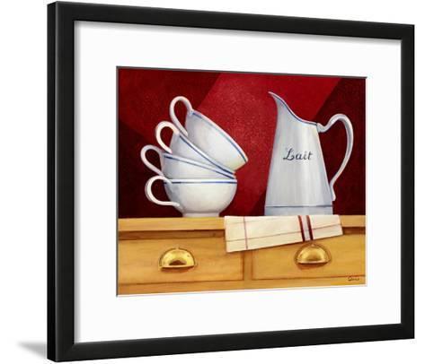 Estante de la Cocina I-Clunia-Framed Art Print