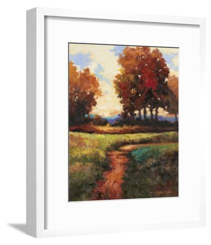 Late Noon Path I-Kanayo Ede-Framed Art Print