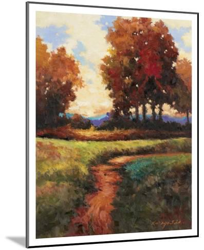 Late Noon Path I-Kanayo Ede-Mounted Art Print