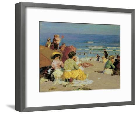 Family Outing-Edward Henry Potthast-Framed Art Print