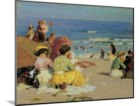 Family Outing-Edward Henry Potthast-Mounted Art Print