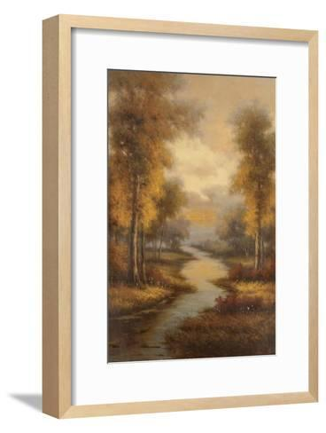 Fall Creek-Pierre-Framed Art Print