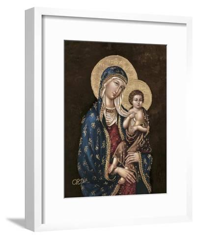 Madonna and Child-Joe Ortiz-Framed Art Print