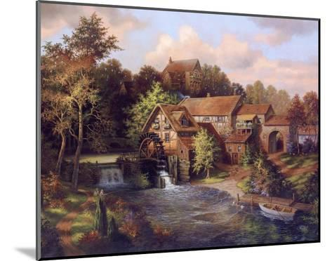 The Old Mill-Klaus Strubel-Mounted Art Print