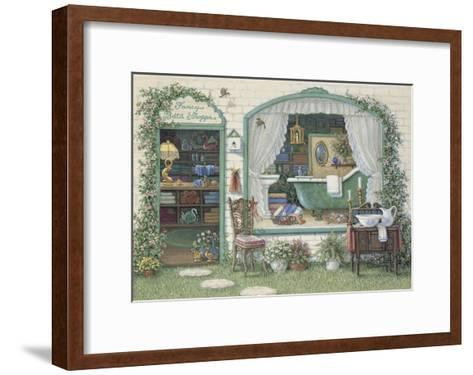 Fancy Bath Shoppe-Janet Kruskamp-Framed Art Print