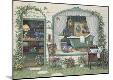 Fancy Bath Shoppe-Janet Kruskamp-Mounted Art Print