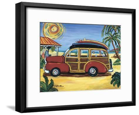 Red Woody-Suzanne Etienne-Framed Art Print