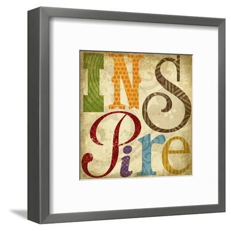 Inspire-Suzanna Anna-Framed Art Print