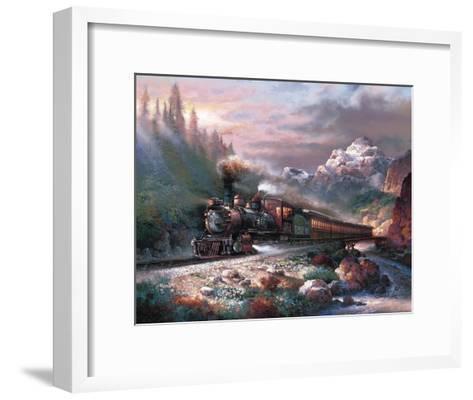 Canyon Railway-James Lee-Framed Art Print