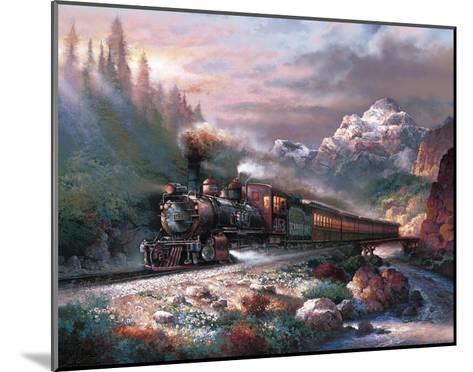 Canyon Railway-James Lee-Mounted Art Print