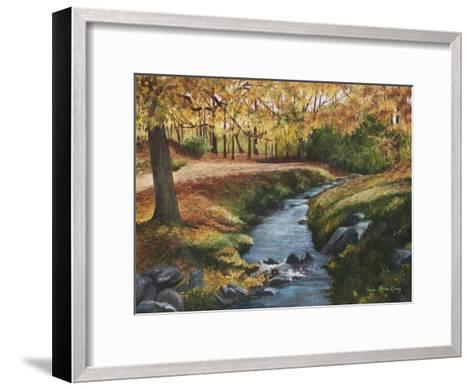 Cool Water-Lene Alston Casey-Framed Art Print