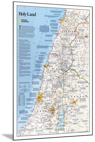 National Geographic Holy Land--Mounted Poster