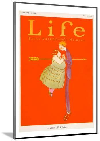 Valentines Day Life Cover--Mounted Giclee Print