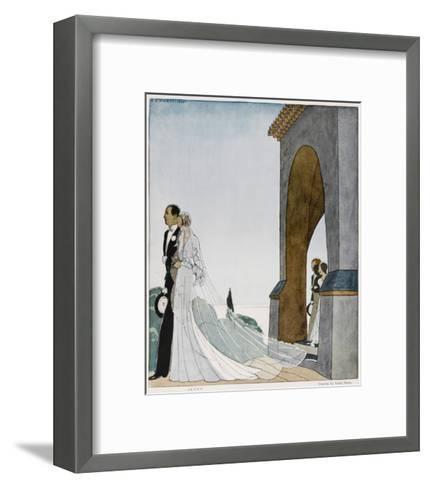 Art Deco Wedding--Framed Art Print