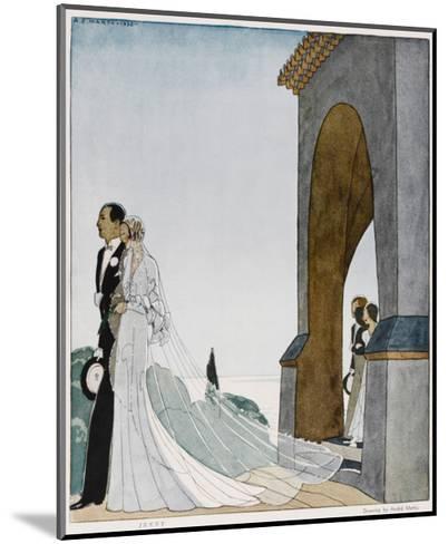 Art Deco Wedding--Mounted Giclee Print