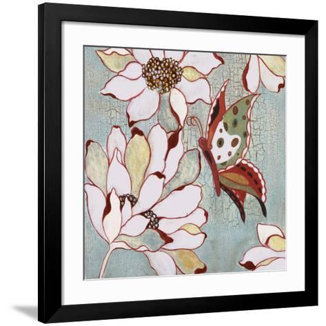 Vintage Butterfly I-Lee Speedwell-Framed Art Print