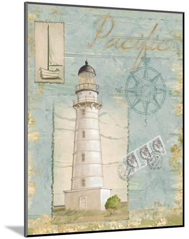 Seacoast Lighthouse II-Paul Brent-Mounted Art Print