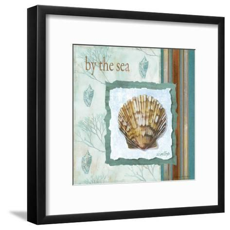 By The Sea-Carol Robinson-Framed Art Print