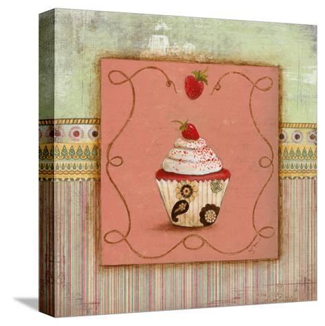 Cupcake Delight I--Stretched Canvas Print