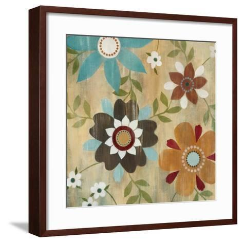 Robin's Garden II-Carol Robinson-Framed Art Print