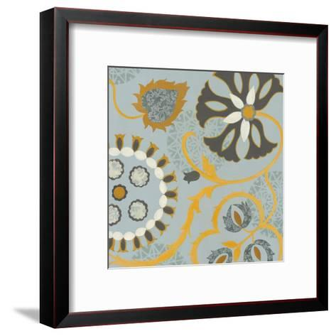 Silk Road I--Framed Art Print