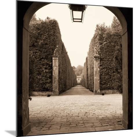 Giardini Portico-Alan Blaustein-Mounted Art Print