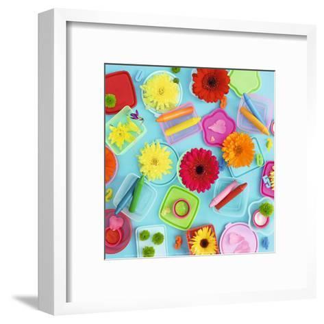 Colors and Flowers-Amelie Vuillon-Framed Art Print