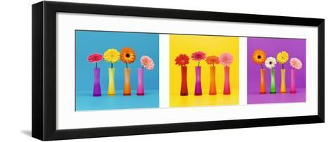 Multicolored-Camille Soulayrol-Framed Art Print