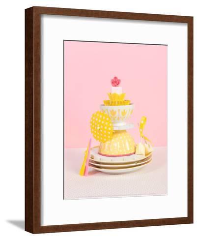 Yellow Spots-Redard & Voevodsky-Framed Art Print