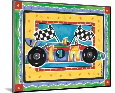 Race Car-Alison Jerry-Mounted Art Print