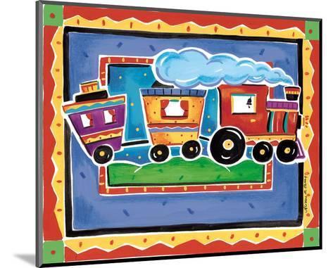 Train-Alison Jerry-Mounted Art Print
