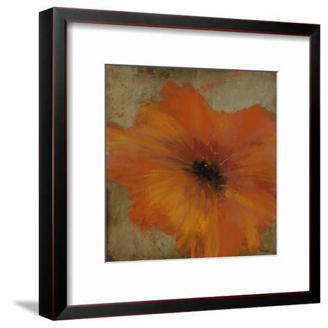 Colourful Flowers III-Bridges-Framed Art Print
