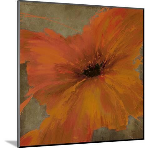 Colourful Flowers IV-Bridges-Mounted Art Print