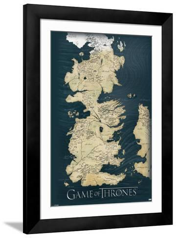 Game of Thrones-Map Poster by | the NEW Art.com