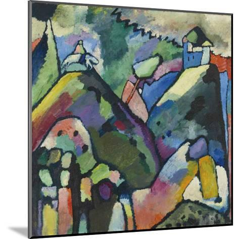 Improvisation 9, 1910-Wassily Kandinsky-Mounted Art Print