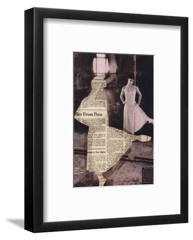 Shape I-J?rg Geismar-Framed Art Print