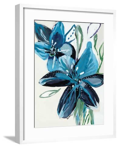 Flowers of Azure II-Angela Maritz-Framed Art Print