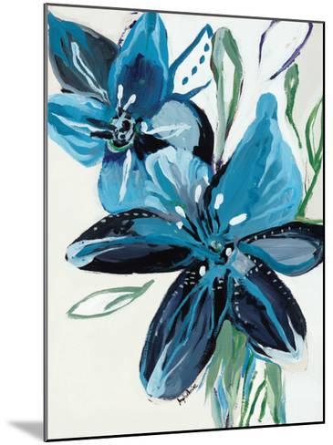 Flowers of Azure II-Angela Maritz-Mounted Art Print
