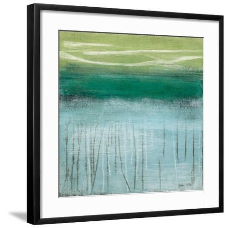 Shoreline Memories I-Heather Mcalpine-Framed Art Print